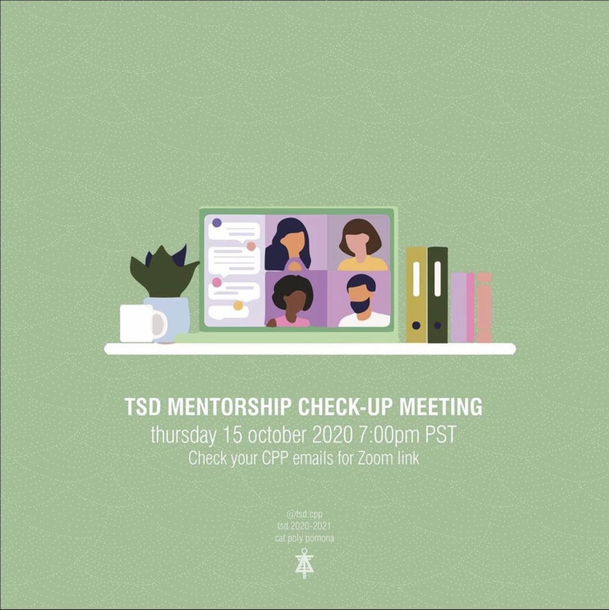 tsd mentor-mentee program meeting