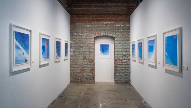 Installation image of Crystal Yachin Lee work at OCCCA