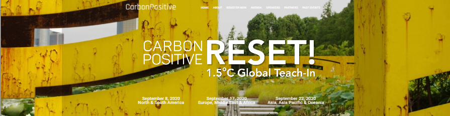 carbon reset global teach-in