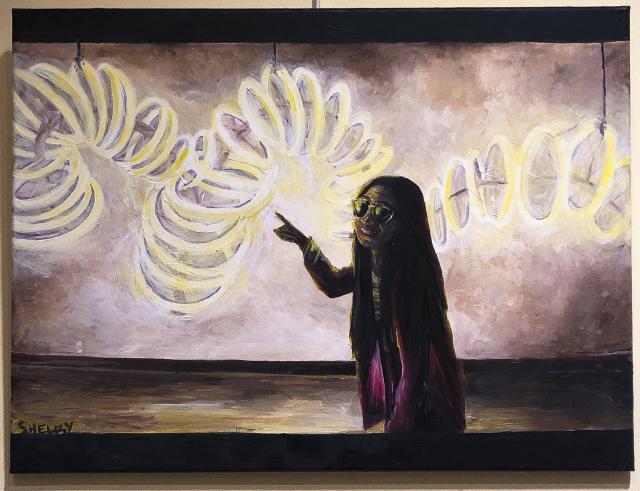 art student spotlight pov on cpp exhibition