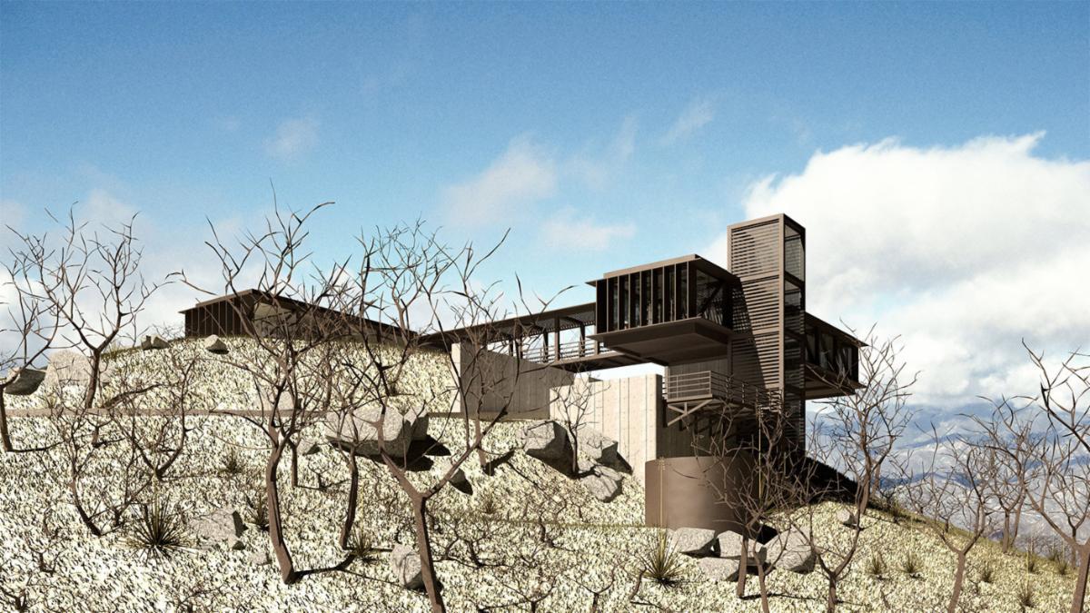 Benjamin Sperry Vetter Mountain Observatory exterior