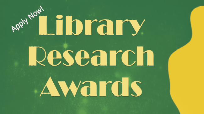 library research award flyer