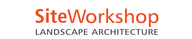 SiteWorkshop Landscape Architecture orange logotype