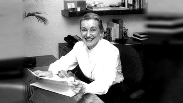 Margarita McCoy black and white portrait