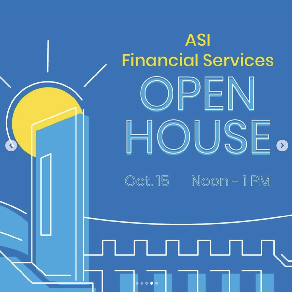 asi financial services open house on oct 15
