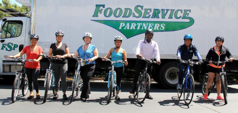 Food Service cyclists