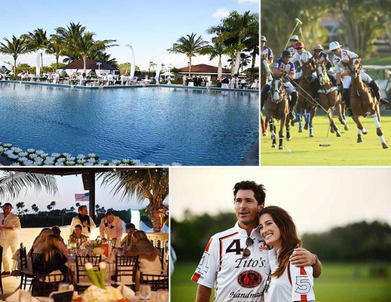$275,000 Raised During Nic Roldan's 2nd Annual Sunset Polo & White Party