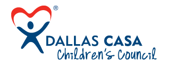 Dallas CASA Children's Council header