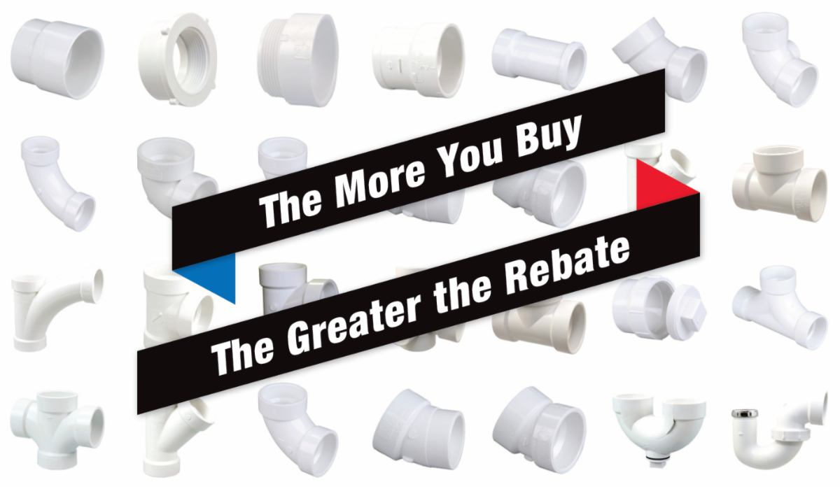 The More You Buy, the Greater the Rebate