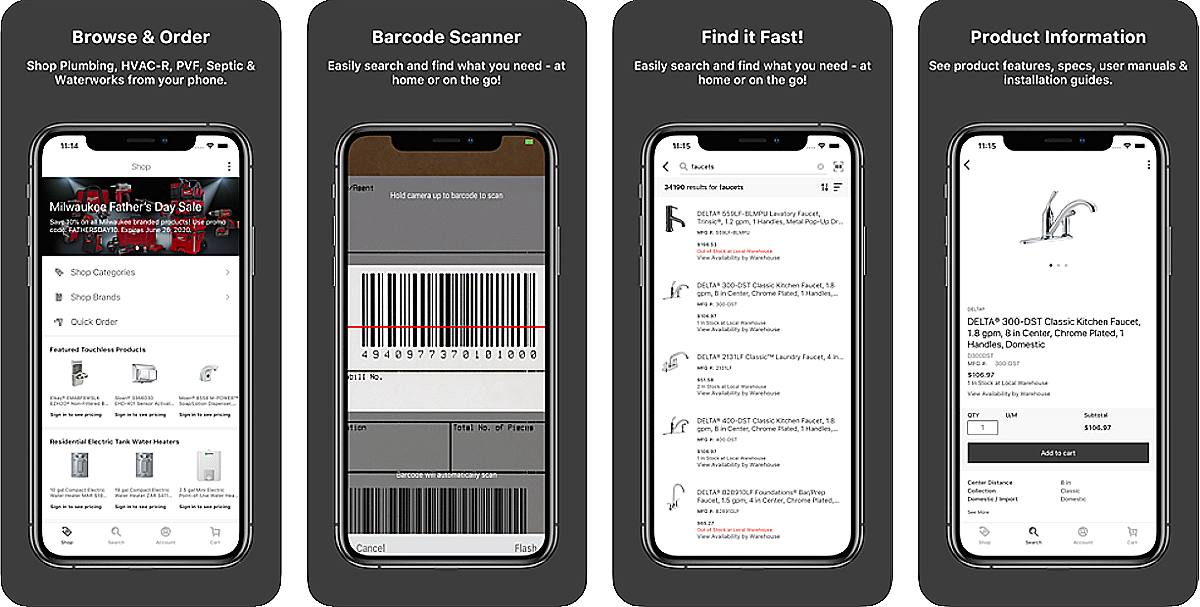 First Supply Mobile App