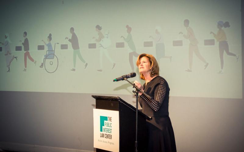 Jenny Clarke speaking
