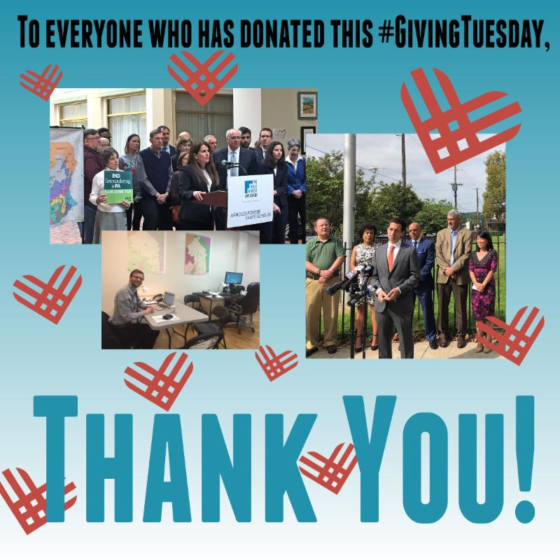 Thank you your support on Giving Tuesday