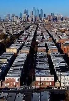 A Philadelphia cityscape