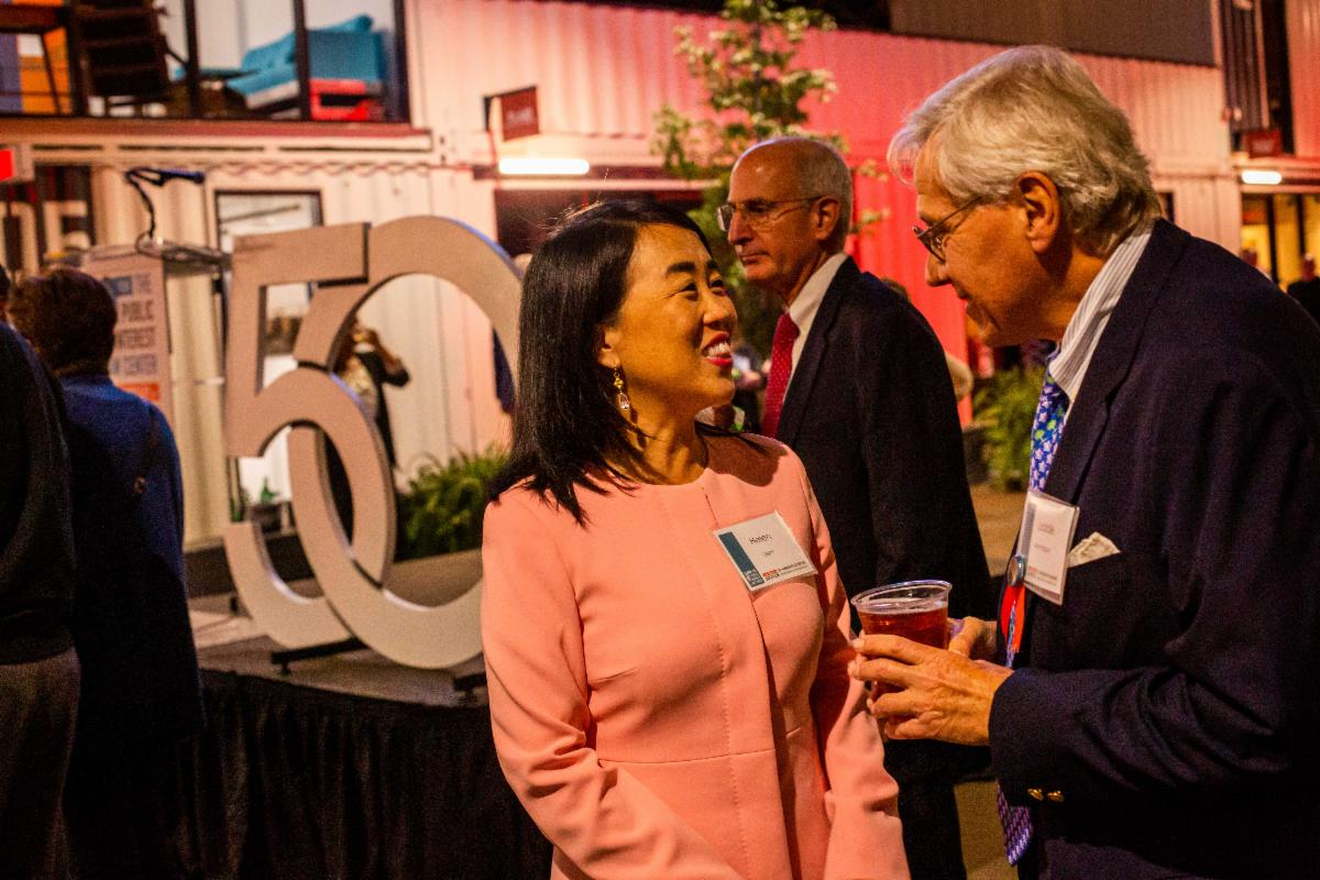 Councilmember Helen Gym at our 50th anniversary celebration