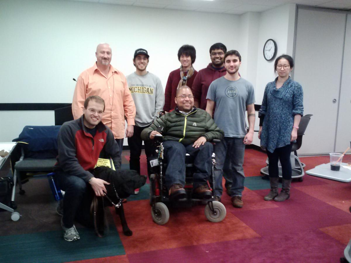 Students with disabilities and their allies SDAG at the University of Michigan