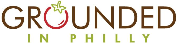 New logo for Grounded in Philly _the O is a tomato_
