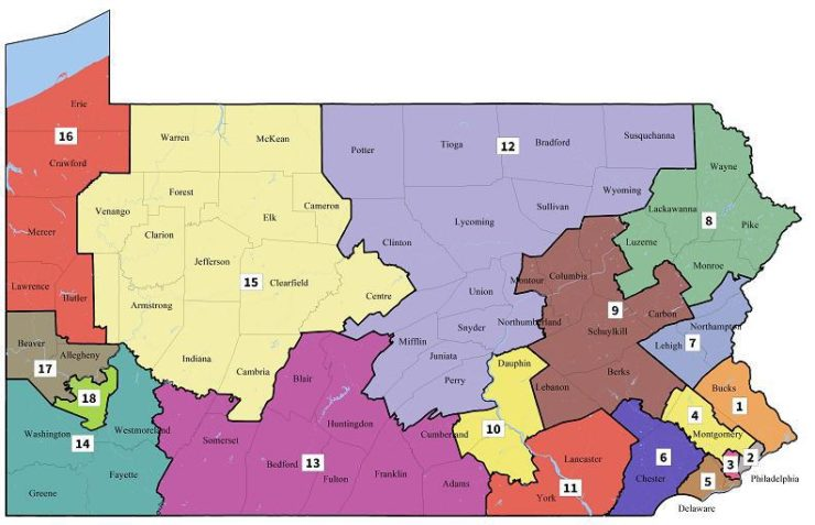 PA_s new congressional district map