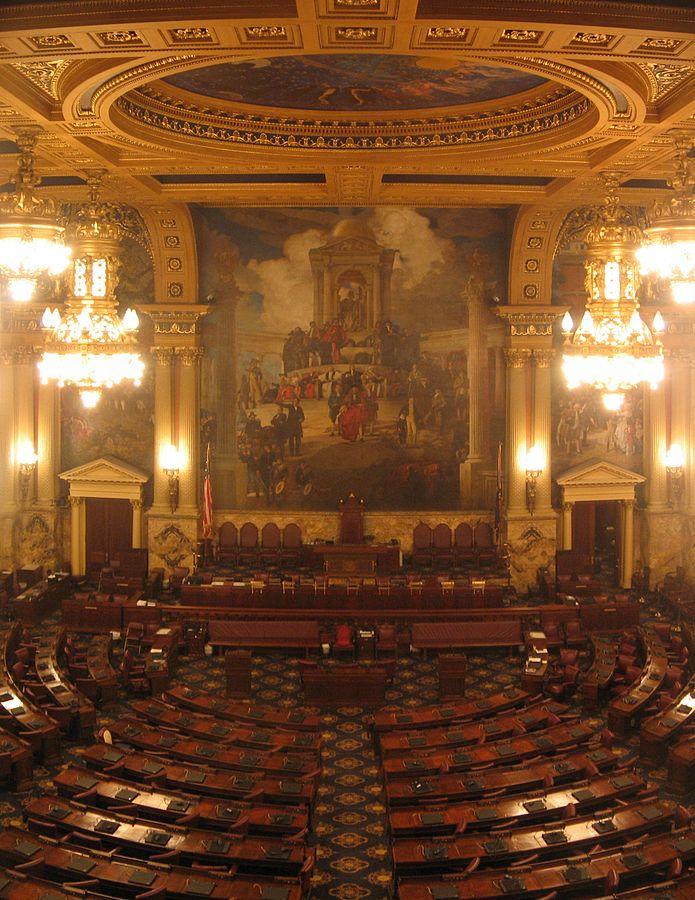 Pennsylvania House of Representatives Chamber