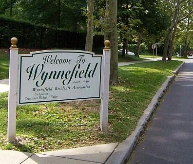 Wynnefield welcome sign