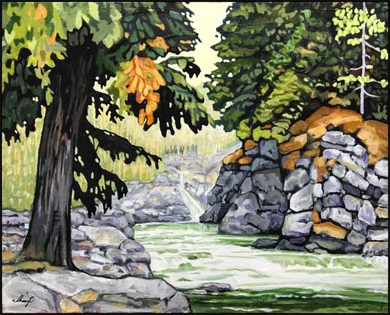 Acrylic Painting by Cheryl O