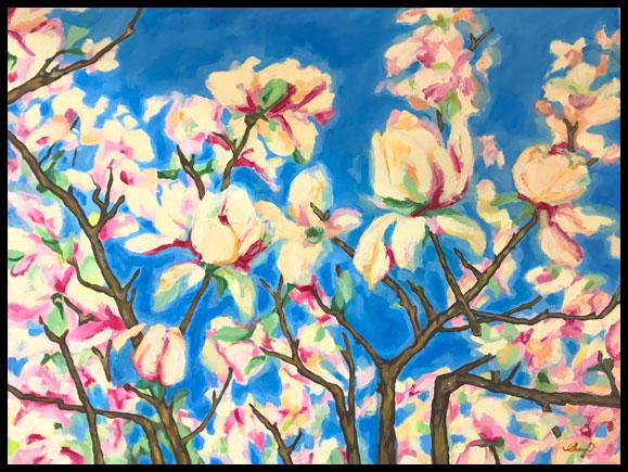 Acrylic by Cheryl O