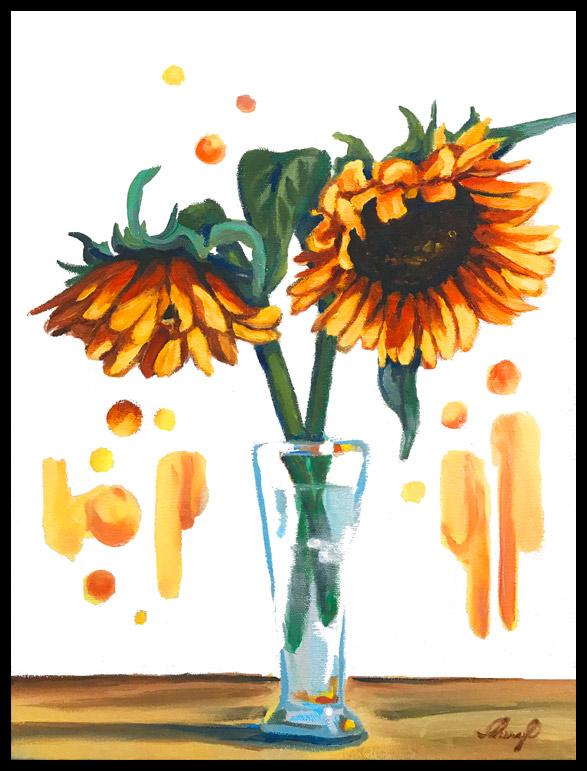 Oil by Cheryl O