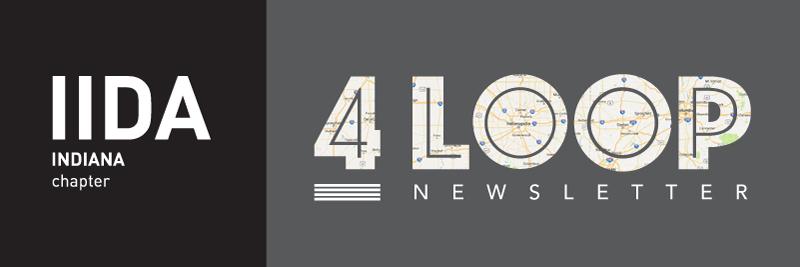4 Loop Newsletter Header with IN logo