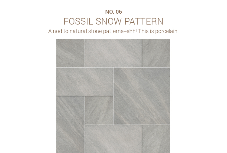 Fossil Snow Pattern