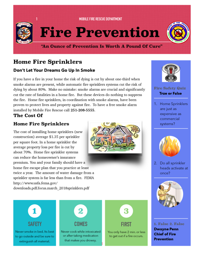 Home Fire Safety 2