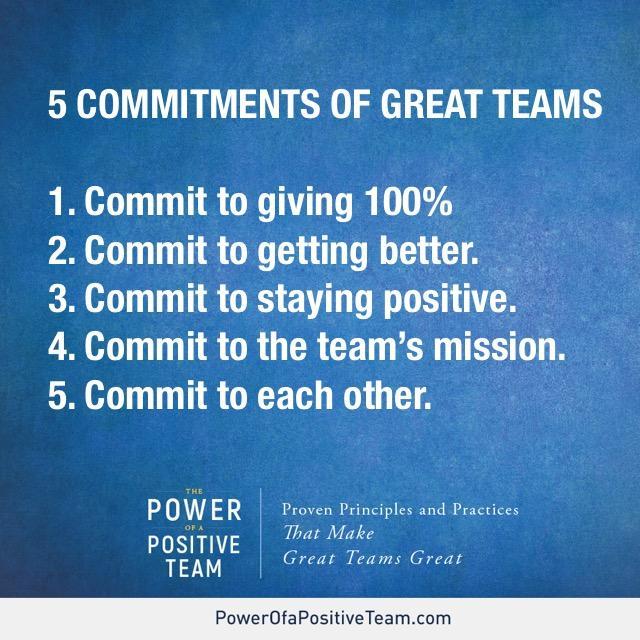 5 Commitments