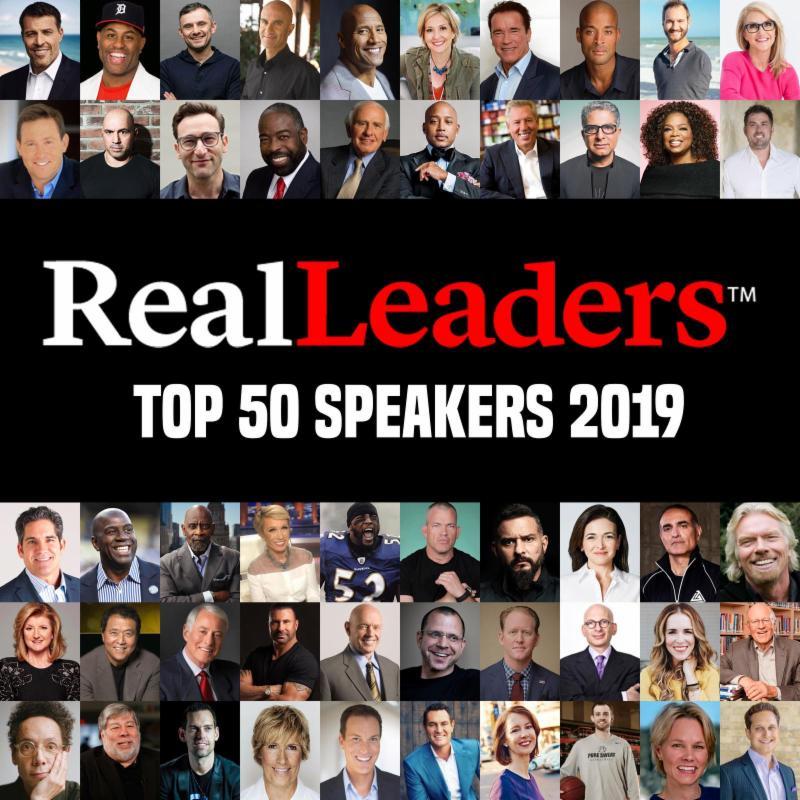 Top 50 Speakers