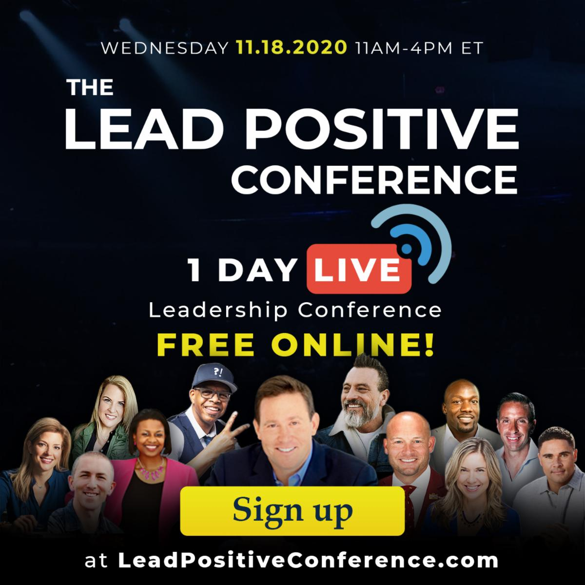 Lead Positive Conference