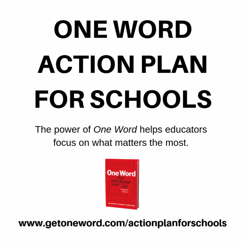 One Word Action Plan
