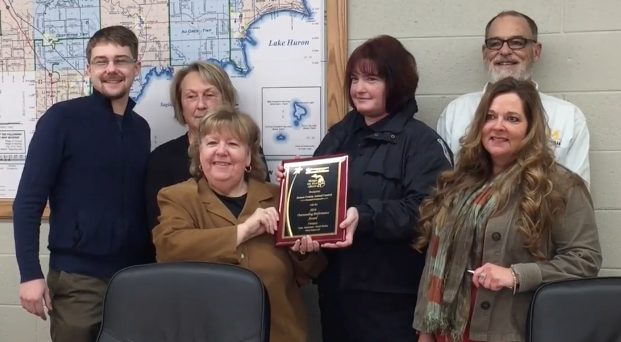 Arenac County 2016 Award presentation