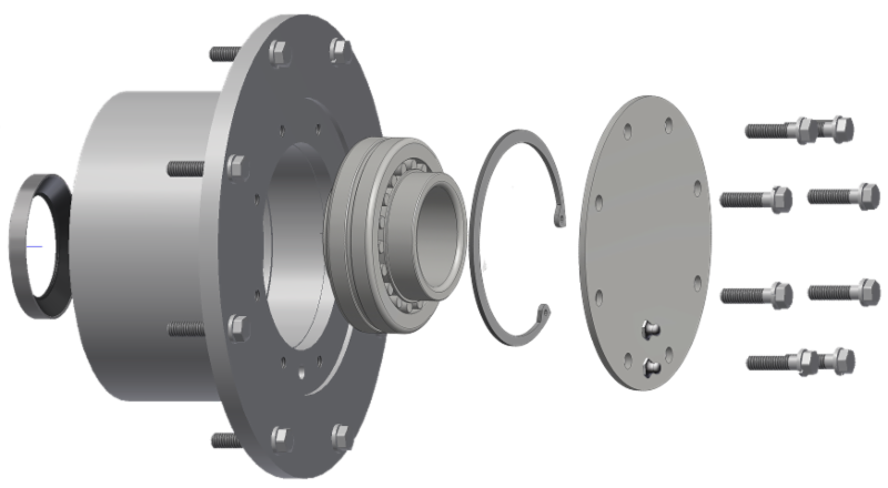 Fully Enclosed Bearing Design