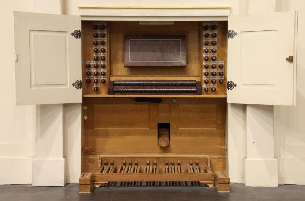 Japanese replica of a Bach Era instrument