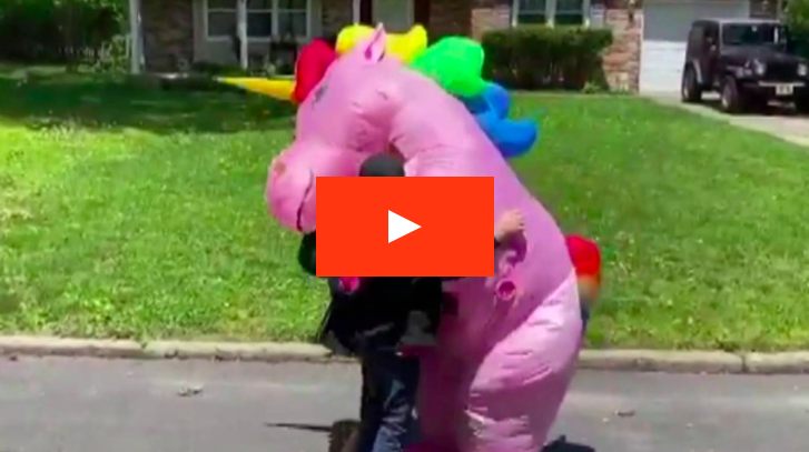Grandma surprise unicorn