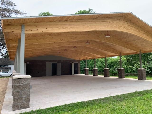 Central Lake pavilion project