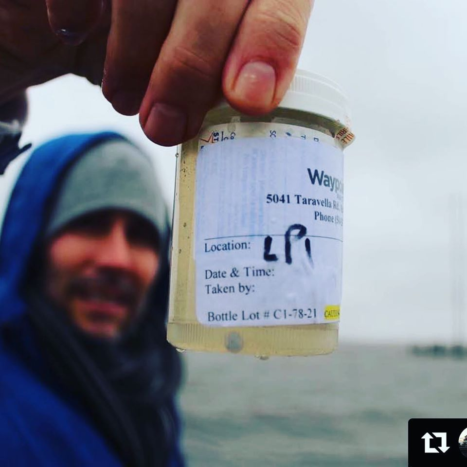 water quality sample