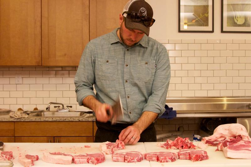 RBR Ag pork butchery