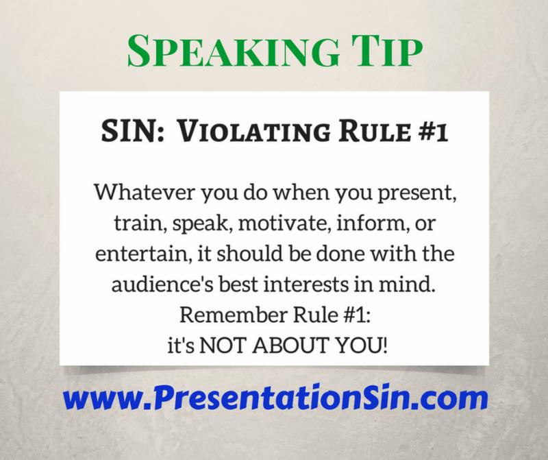 Presentation Sin Rule #1