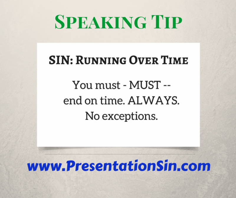 Speaking Tip