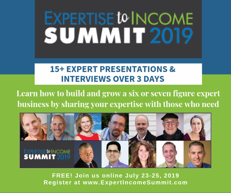 Expertise to Income Summit