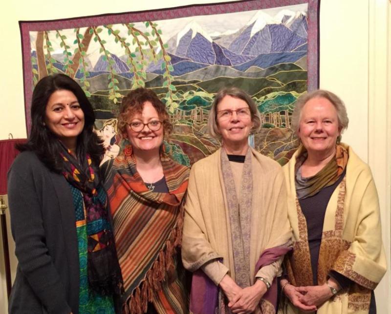 Shikha, Sarah, Rebecca and Sharon. Not pictured is Nate HIbbs