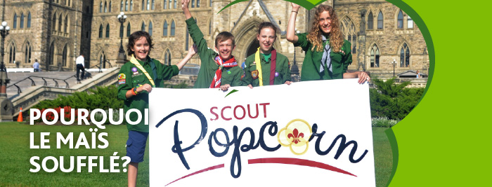 Why Scout Popcorn?