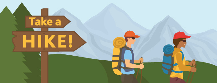 Take a Hike! June Safety Tip