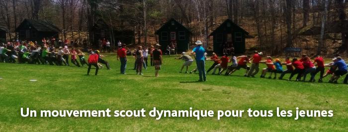 Un mouvement scout dynamique pour tous les jeunes