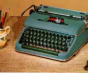 Typewriter 1950's