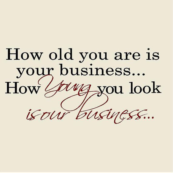 how old you look
