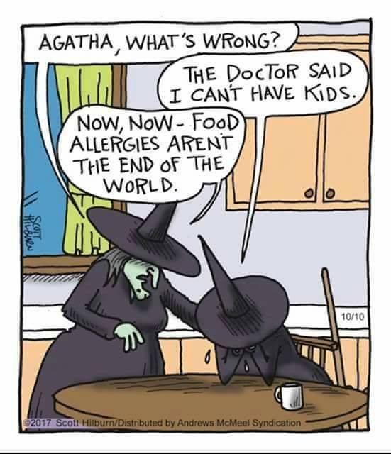 witch child allergy